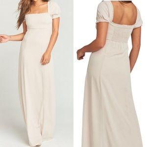 Show Me Your Mumu Brittany Maxi Bridesmaid Dress
